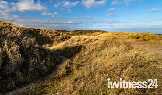Norfolk Coastal Path at Winterton