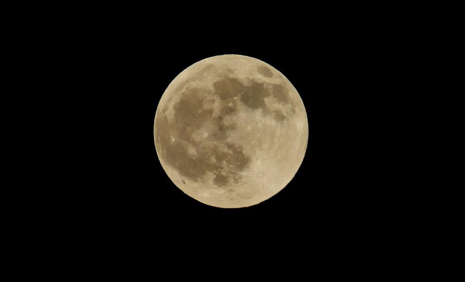 Volle maan in Nederland