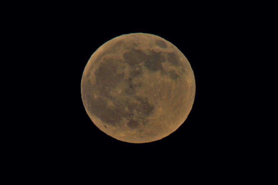 De maan vandaag 10-01-2020