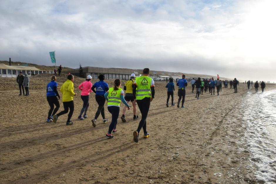 Doorkomst halve marathon Egmond in Castricum