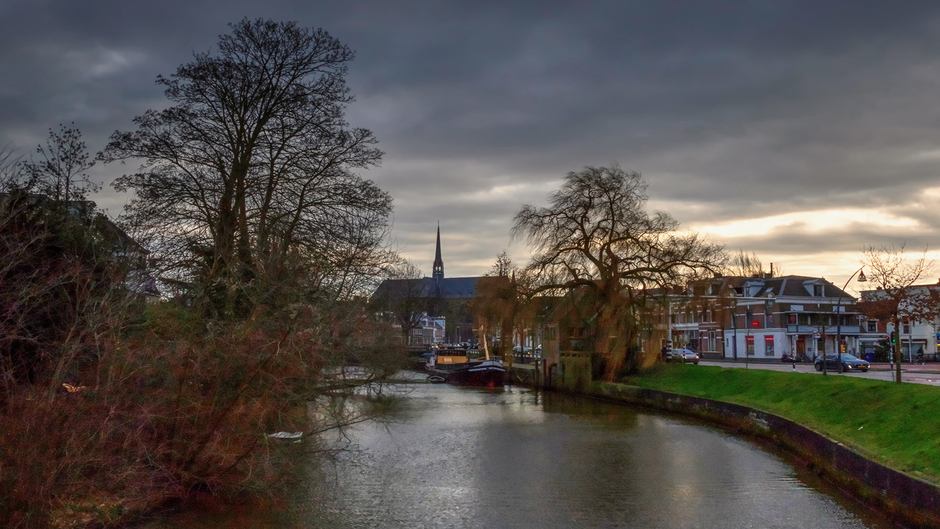 15-01-2020 Fraaie wolkenlucht in Zwolle, Overijssel