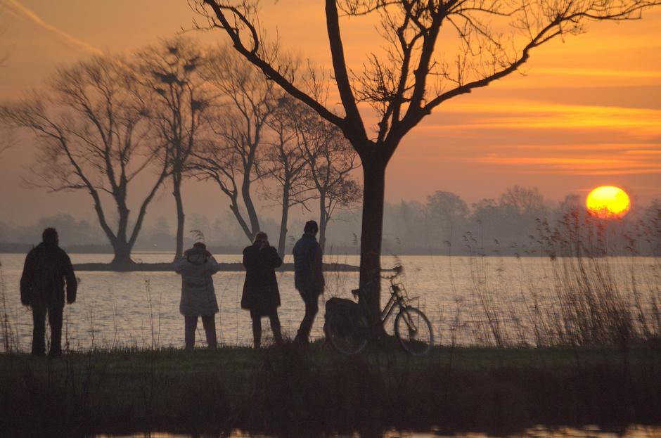 De Zonsopkomst van Donderdag veelvuldig gefotografeerd!