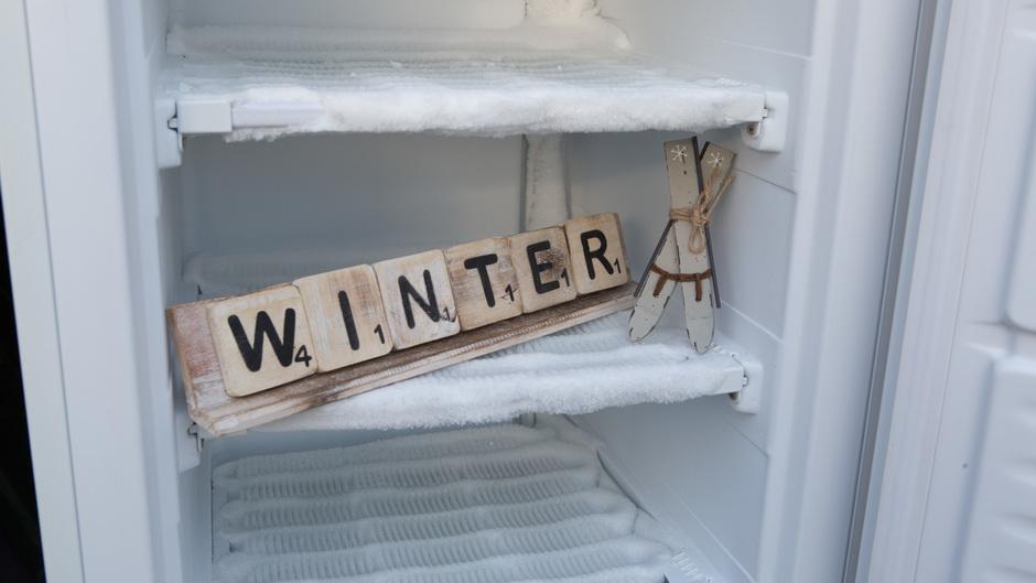 De winter staat figuurlijk even in de IJSKAST! #ijskastschoonmaken #ontdooien #winter