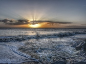 Sunrise in kessingland
