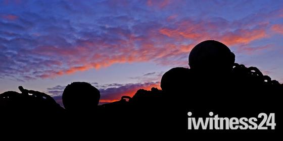 Levington Marina sunset