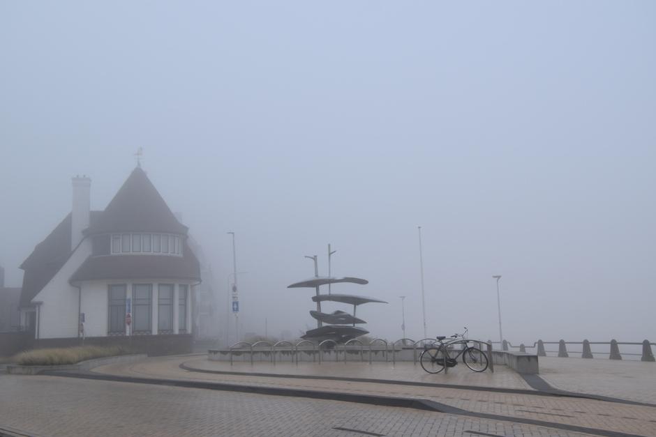 Mist op de boulevard