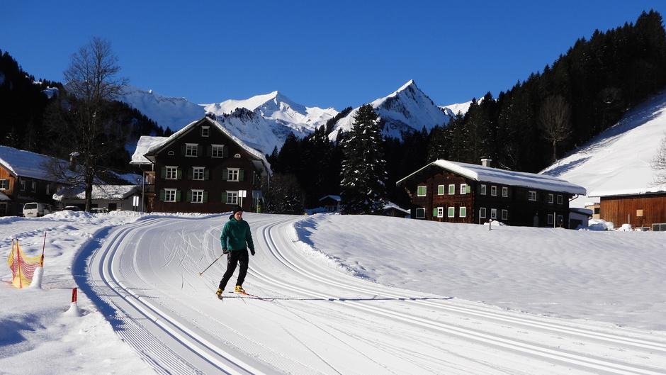 Alpen: zonnig en vrij zacht