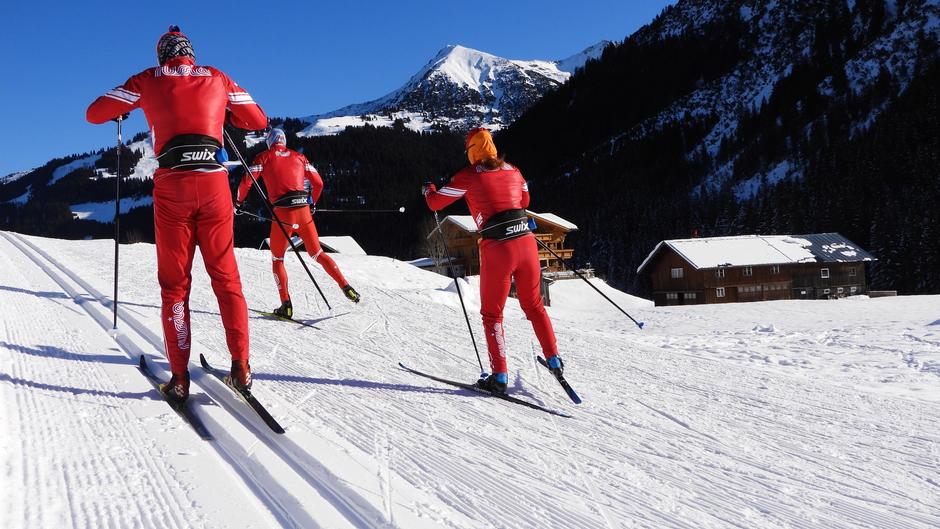 Alpen: Zonnig en strak blauw
