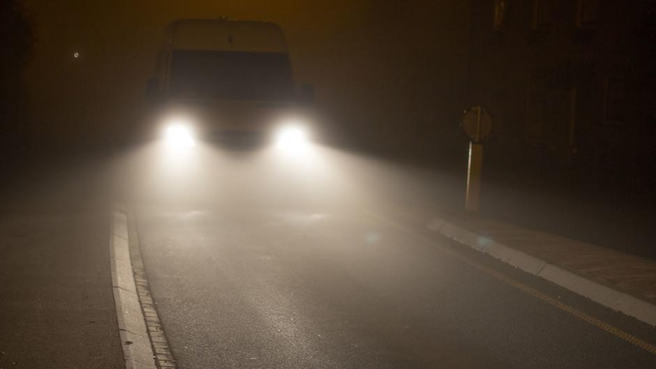 Zeer dichte mist om 4.00 uur in het Rivierengebied #Buurmalsen