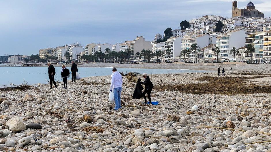 Strandjutters schonen de stranden