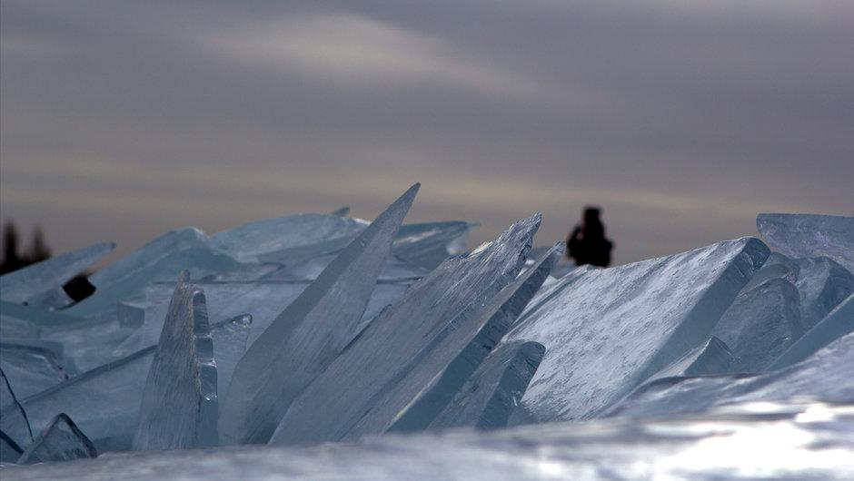 Kruiend ijs 29 januari 2013 in Stavoren (wat een verschil met nu)