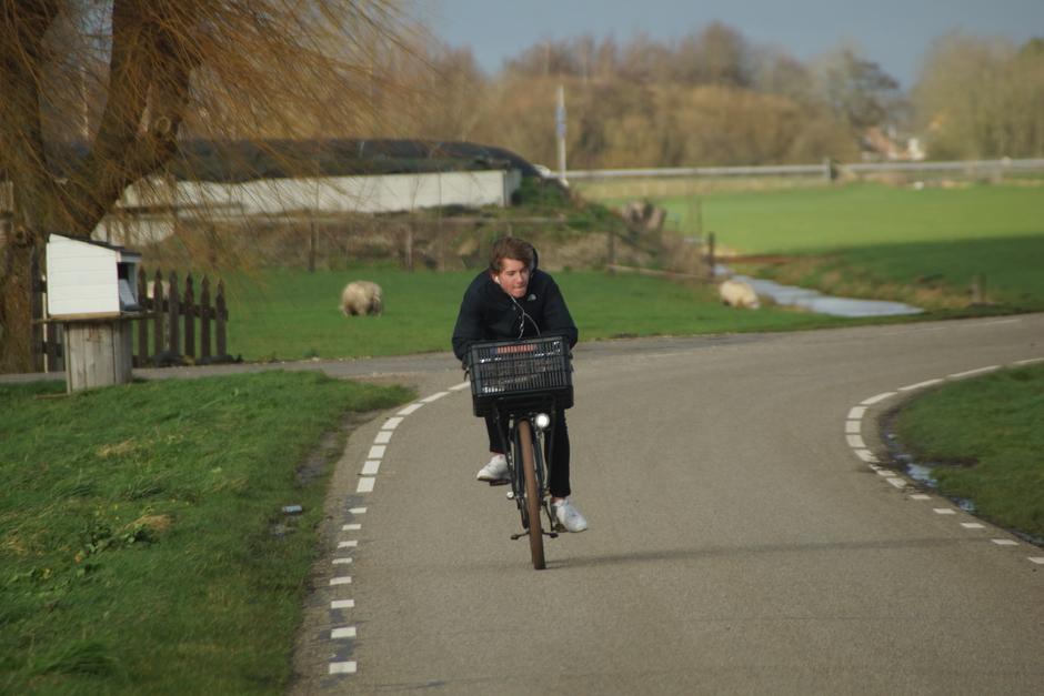 Pittig op de fiets
