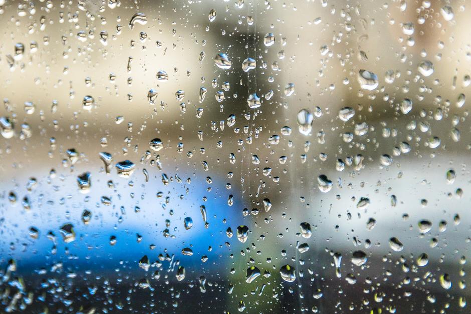 Hele dag regen en grijs