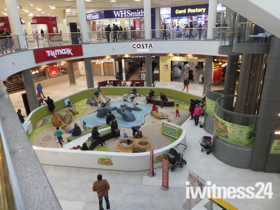 Children play area in Ilford Exchange