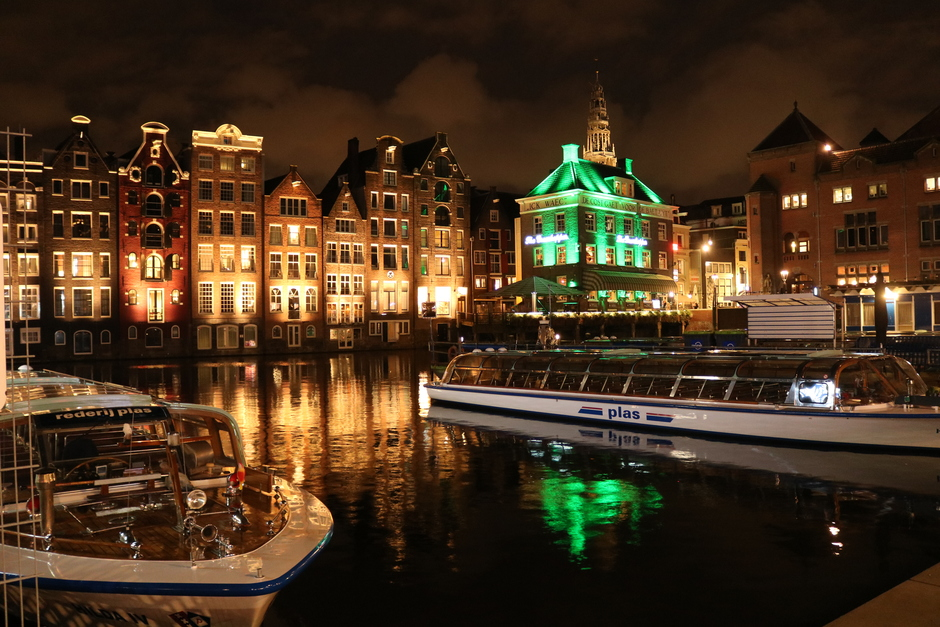 Amsterdam avond tijd