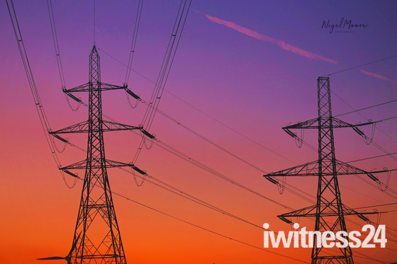 Electrifying Sunset