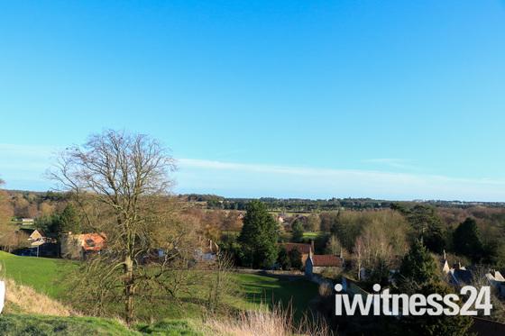 Castle hill Thetford