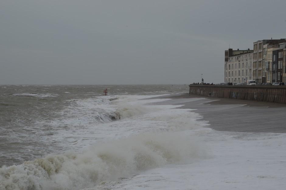 Vloed en wind