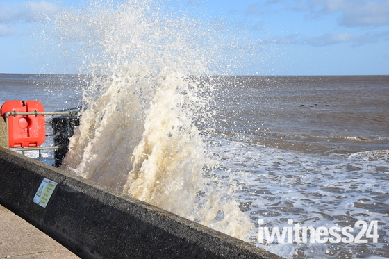 The Sea At Lowestoft
