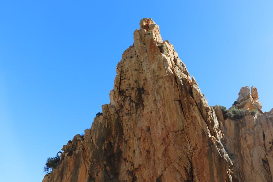 Kliffen bij Benitachell