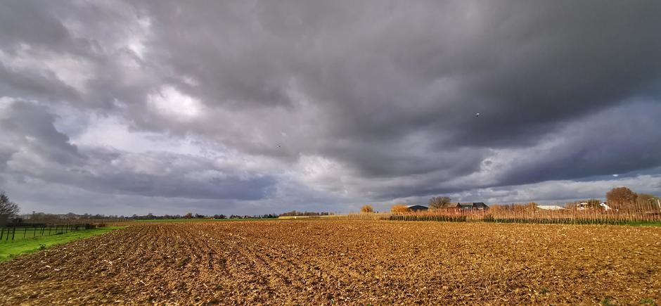 Weer donkere luchten vandaag net als gisteren?