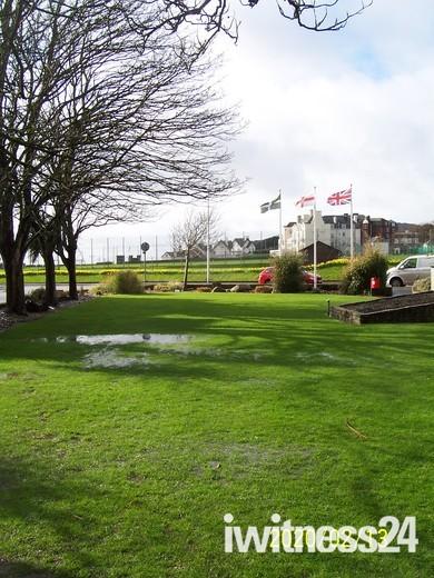 Waterlogged Sidmouth Triangle