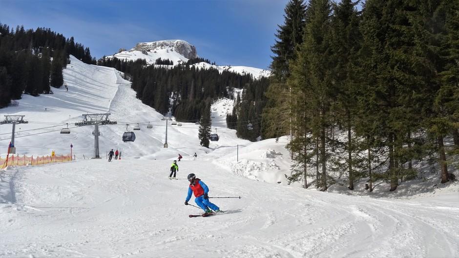 Alpen: vanmiddag zon