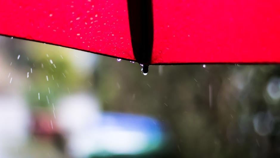 Regen, regen en nog eens regen vanmorgen