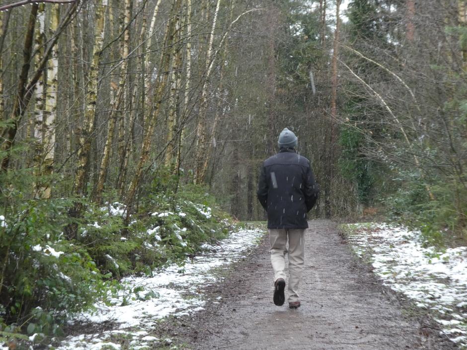 sneeuwbui Vaalserberg
