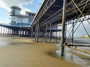 Grand pier and crows