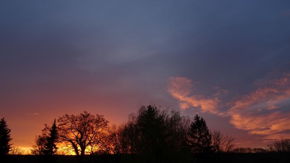 Zonsopkomst vanmorgen