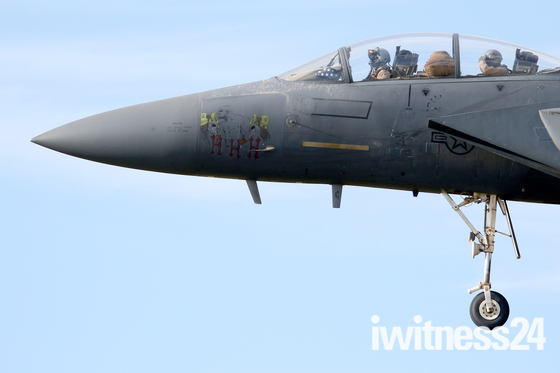 494th Fighter Squadron return home to Lakenheath
