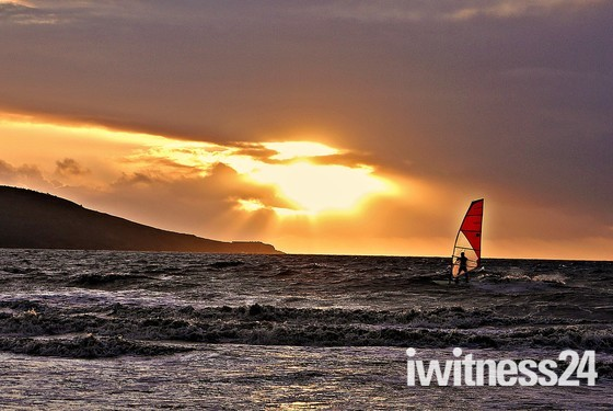 Sails in the Sunset.