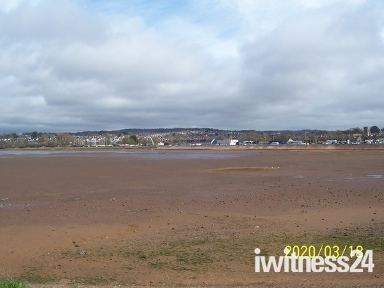Exe Estuary at low tide