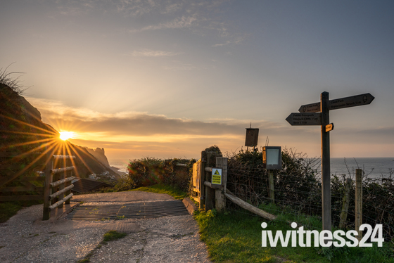 March Sunrise at Branscombe