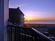 Royal Sands sunset.