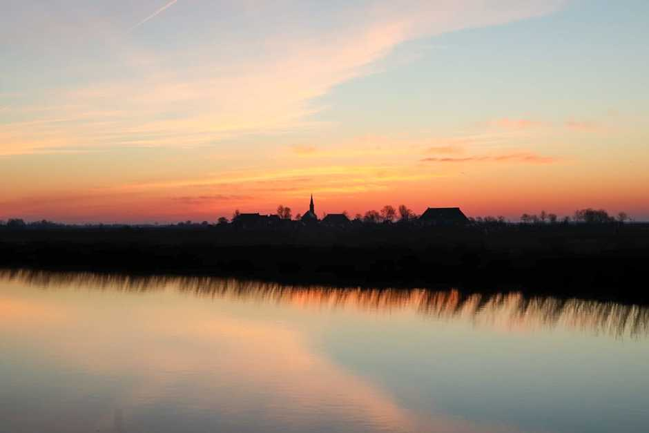 Afbeelding van zonsopgang 25 maart 2020