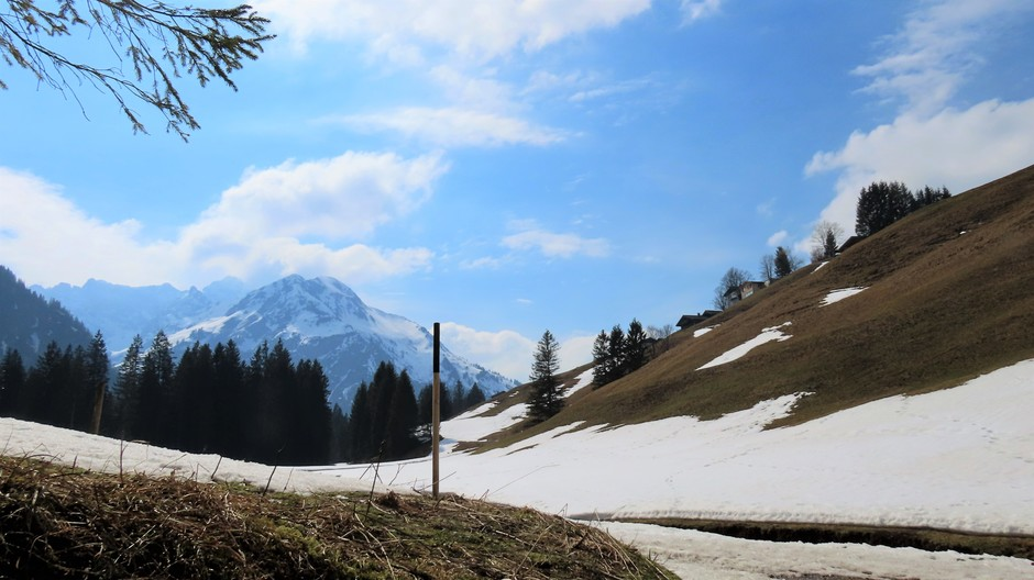 Alpen: vrij zonnig
