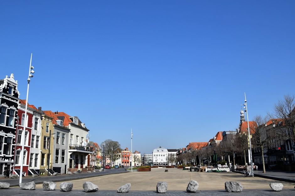 Stilte op het plein