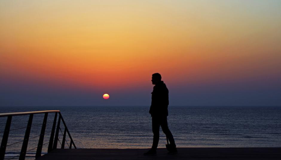 Bam! Wat een zonsondergang! (1)