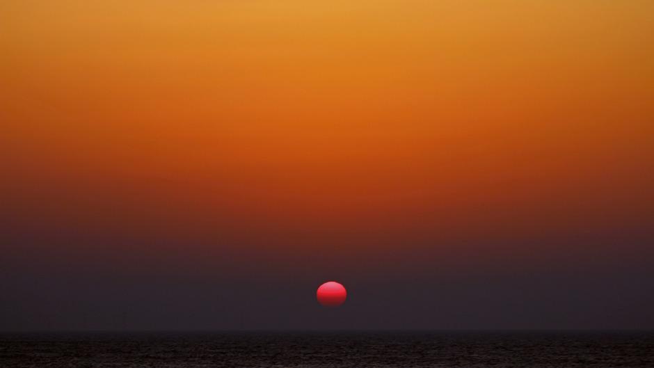 Bam! Wat een zonsondergang! (2)