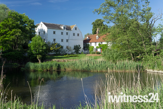 Bures Mill, in May