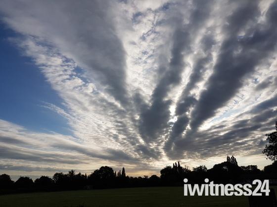 Suffolk skies taken last year