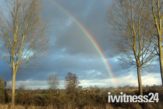 Rainbow at Nayland