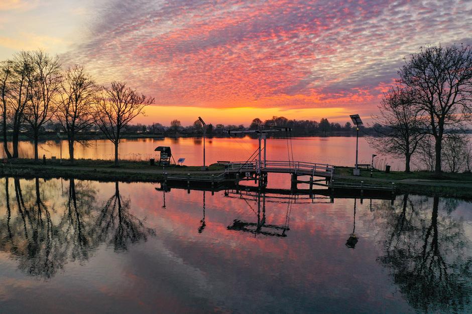 Prachtige zonsopkomst.
