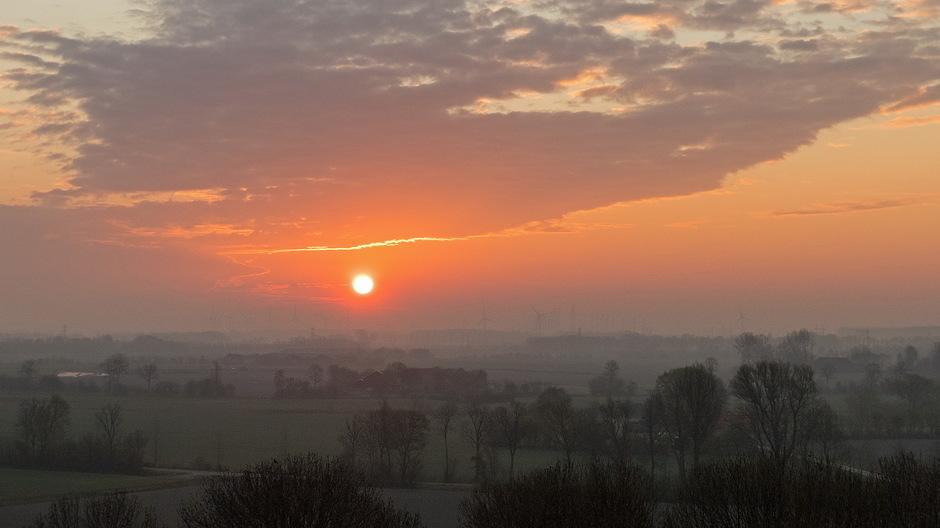 Heiïge zonsopkomst
