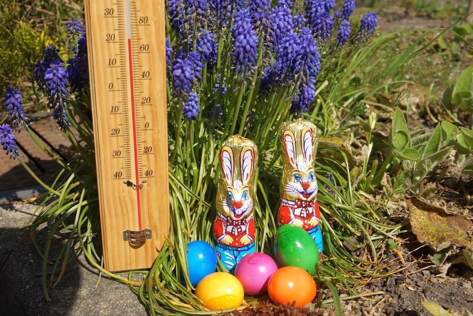 Zonnig en warm eerste deel van Pasen