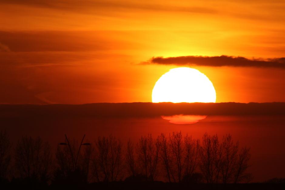20200414 Sunset in Eindhoven