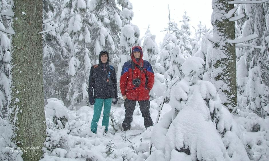 Sneeuw en warmte (Koningsdag)