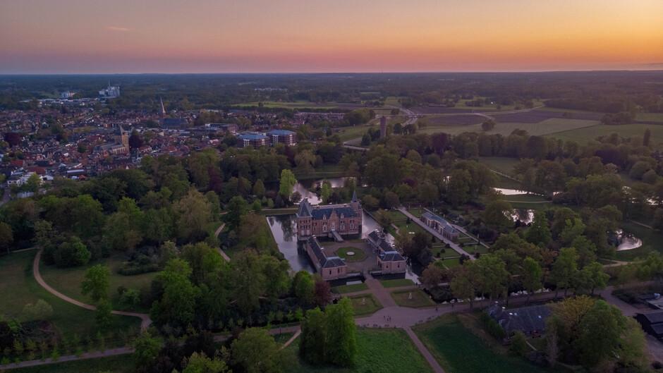 Sunset kasteel Twickel 04-05-2020